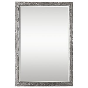 Weber Distressed Silver Mirror