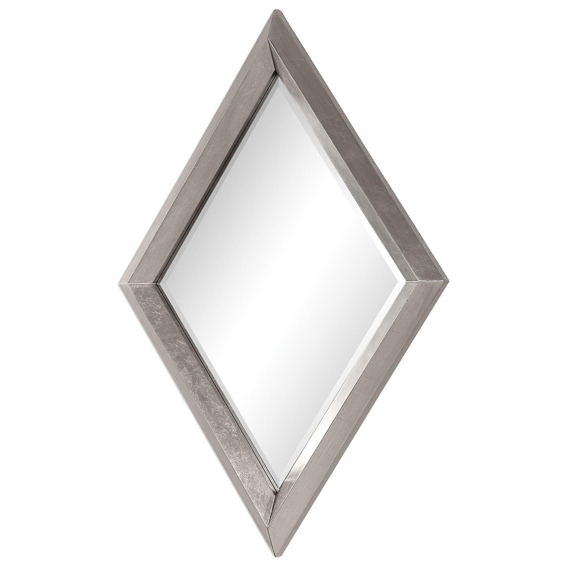 Diamante Silver Mirror