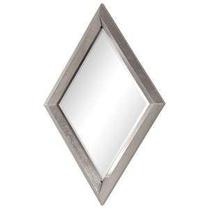 Uttermost Mirrors Diamante Silver Mirror