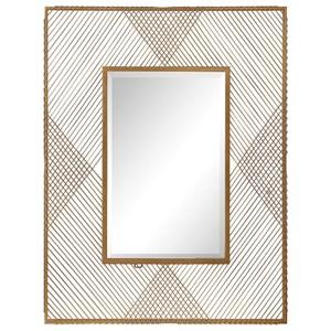 Uttermost Mirrors Bavol Metallic Gold Mirror