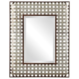 Uttermost Mirrors Fabelle Galvanized Metal Mirror