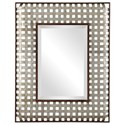 Uttermost Mirrors Fabelle Galvanized Metal Mirror - Item Number: 09428