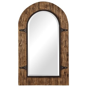 Uttermost Mirrors Cassidy Wooden Arch Mirror
