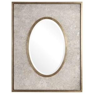 Uttermost Mirrors Gabbriel Aged Oval Mirror