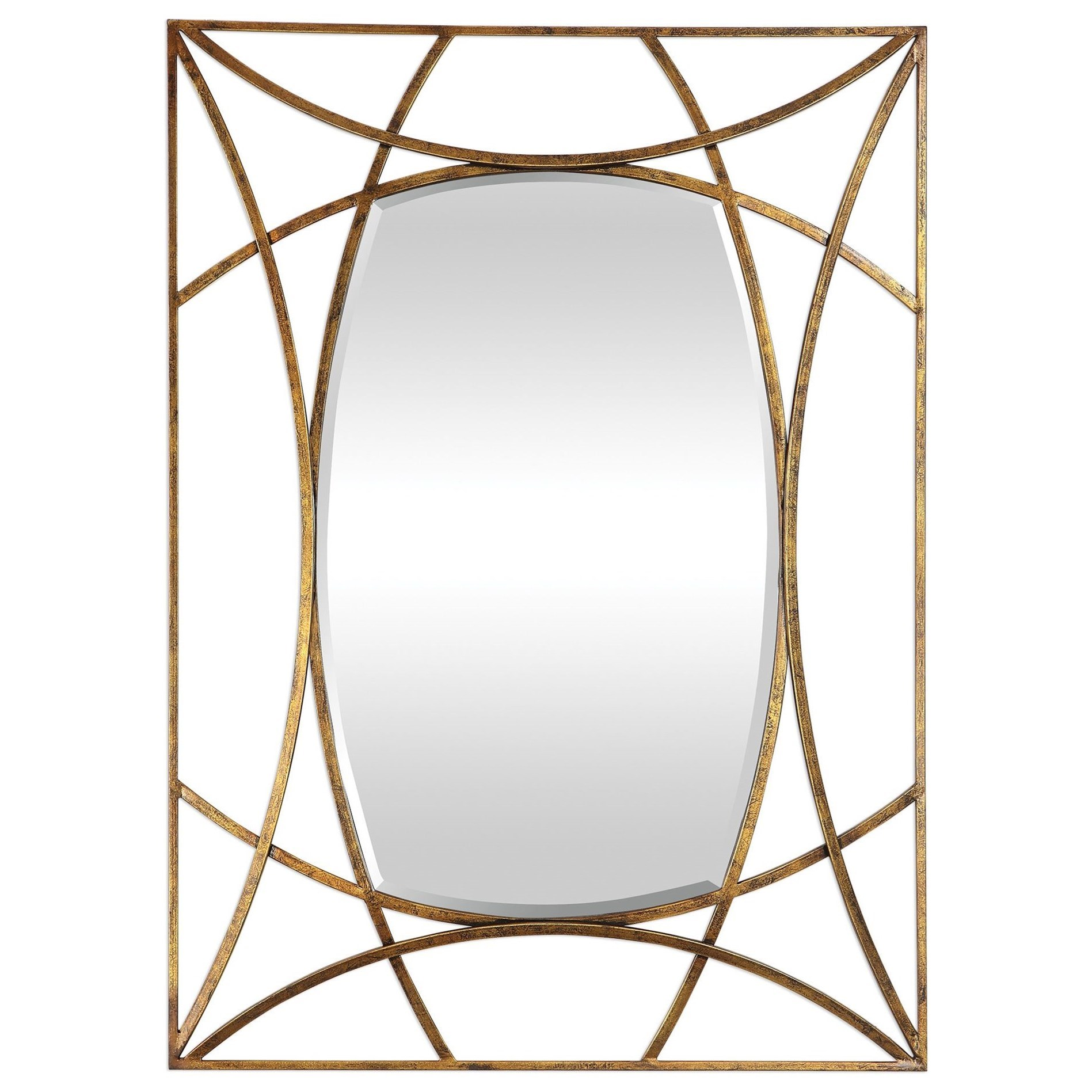 Abreona Metallic Gold Mirror