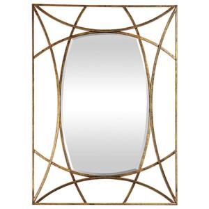 Uttermost Mirrors Abreona Metallic Gold Mirror
