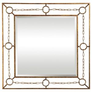 Uttermost Mirrors Rafello Champagne Chain Mirror
