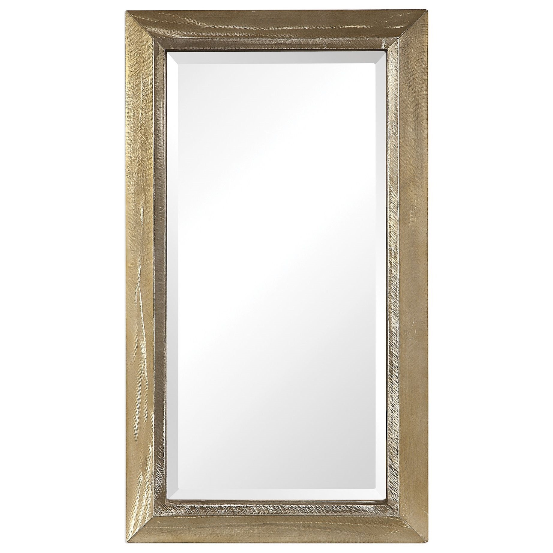 Madock Metallic Brass Mirror