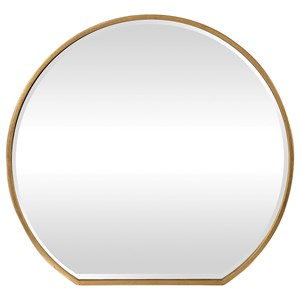 Uttermost Mirrors Cabell Gold Mirror