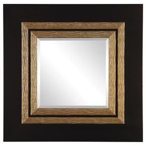 Uttermost Mirrors Faisal Square Black Mirror