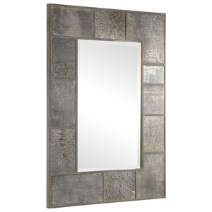 Taelon Metal Panel Mirror