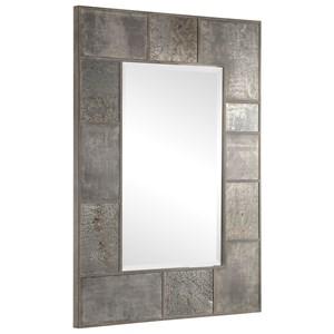 Taelon Metal Panel Mirror