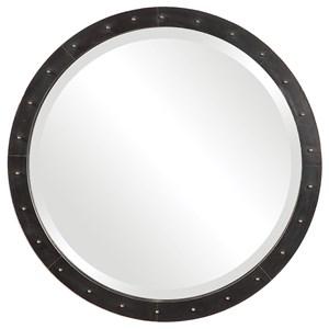 Beldon Round Industrial Mirror