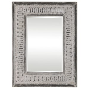 Uttermost Mirrors Argenton Aged Gray Rectangle Mirror