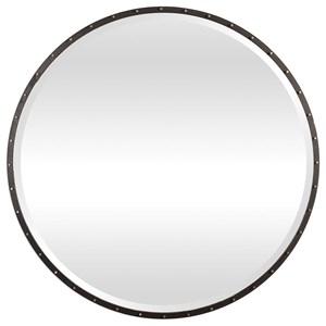 Uttermost Mirrors Benedo Round Mirror