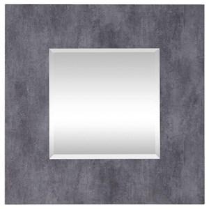 Rohan Gray Square Mirror