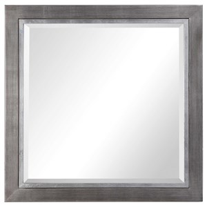 Moore Silver Square Mirror