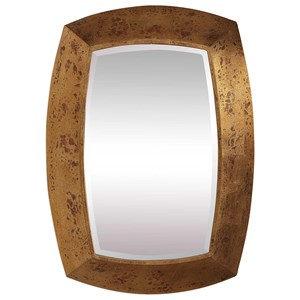 Syrah Antique Gold Mirror