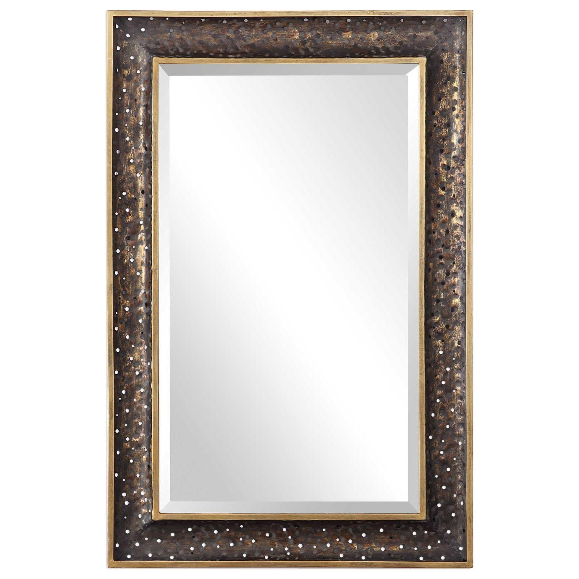 Mauro Rustic Bronze Mirror