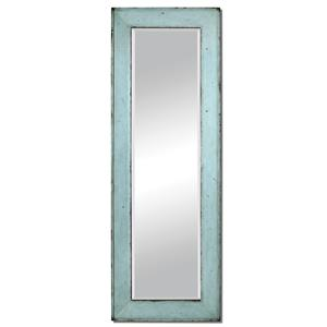 Chasity Light Blue Leaner Mirror