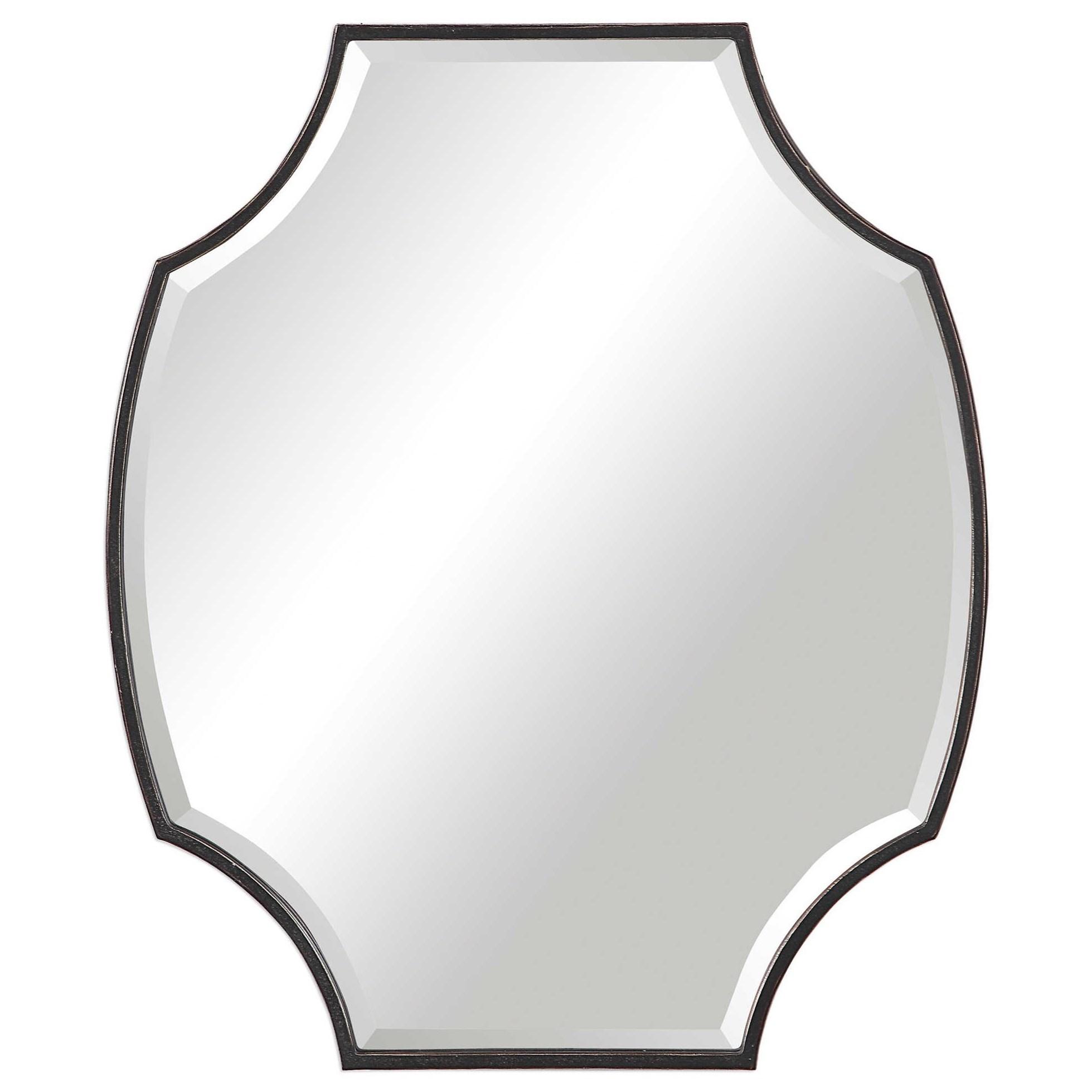 Ulalia Scalloped Mirror