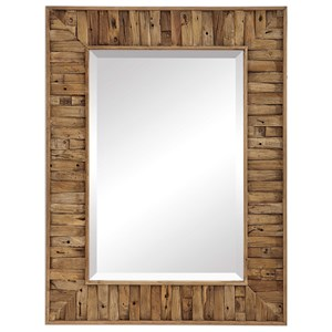 Nalani Reclaimed Wood Mirror