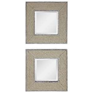Cambay Square Mirrors (Set of 2)