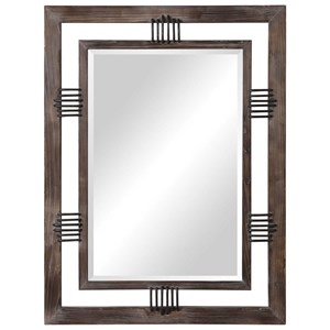 Ebbe Rustic Farmhouse Mirror