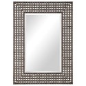 Uttermost Mirrors Tarquin Crosshatched Mirror - Item Number: 09557