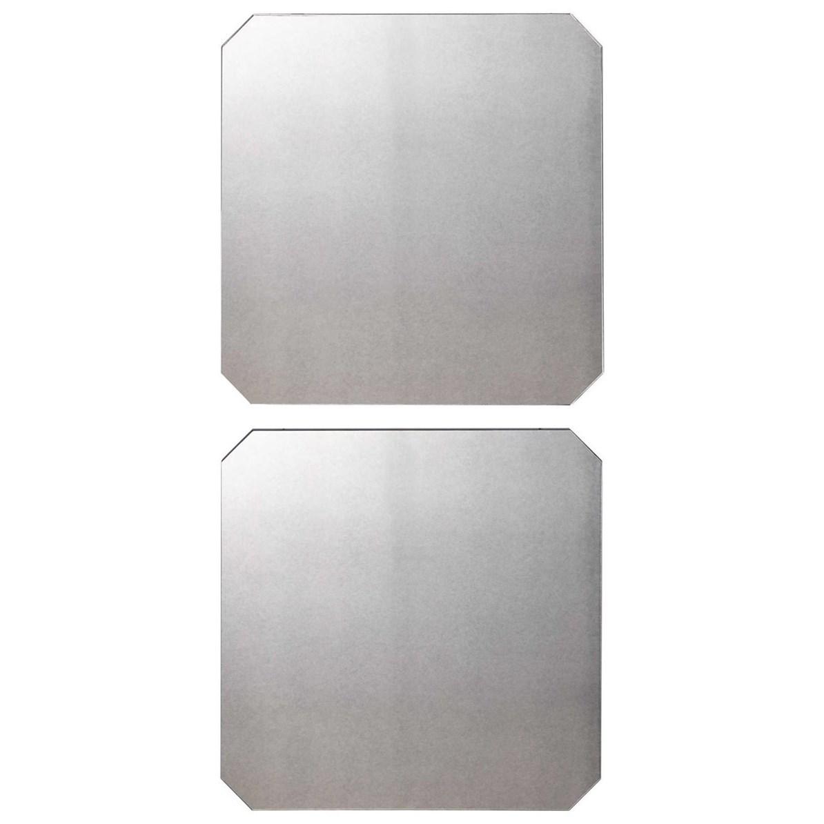 Lange Square Mirrors, Set/2
