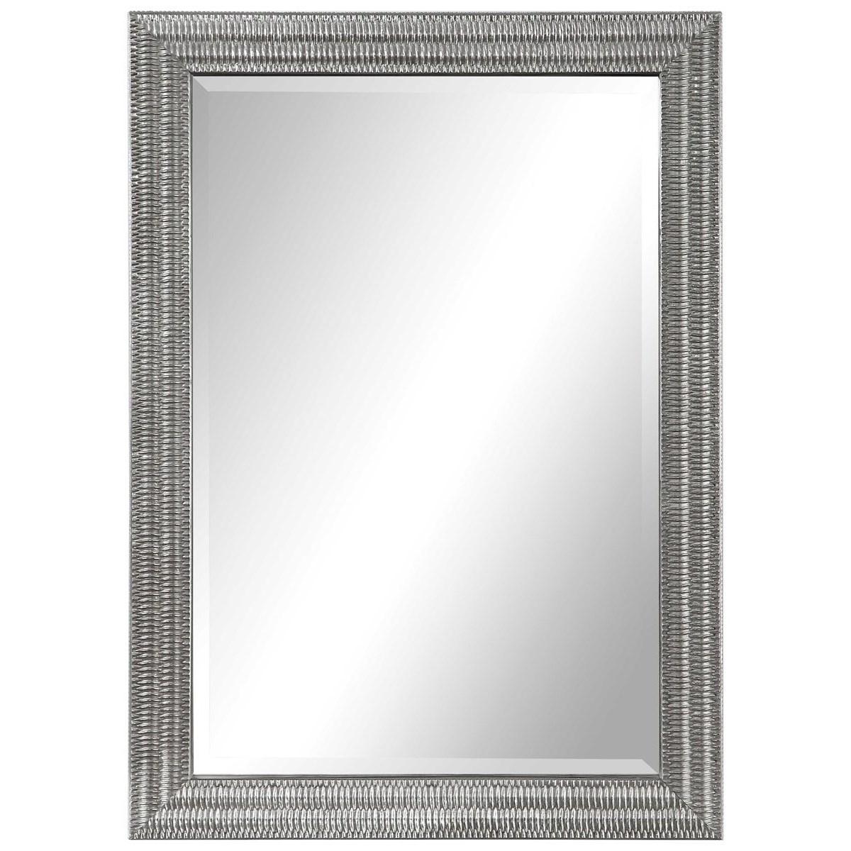Alwin Silver Mirror