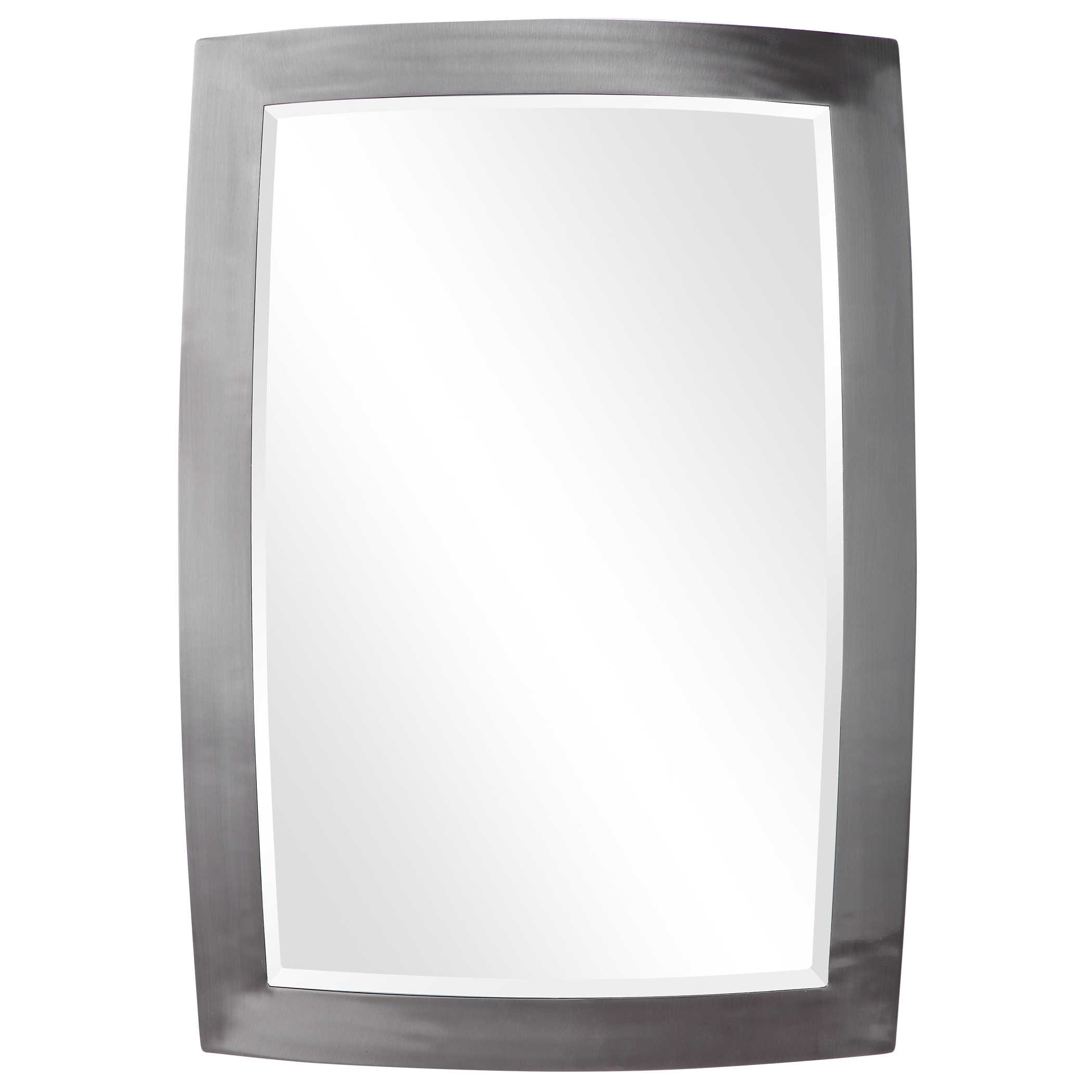Haskill Brushed Nickel Mirror
