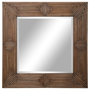 Traveler Geometric Square Mirror