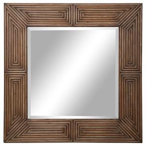 Traveler Geometric Square Mirror