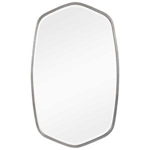 Duronia Brushed Silver Mirror