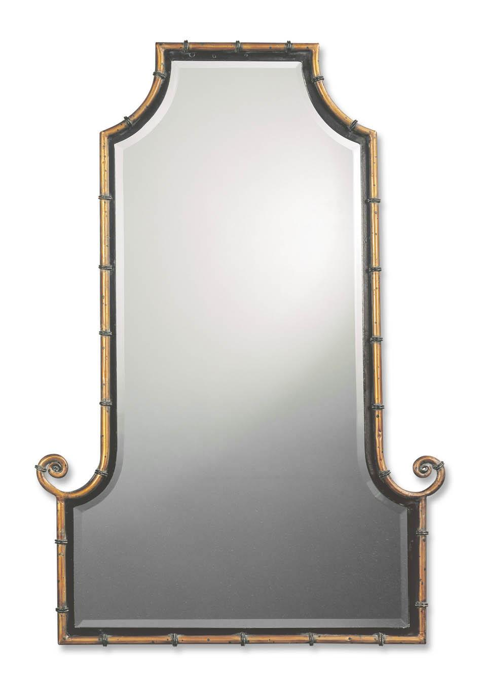 Uttermost Mirrors Himalaya Iron - Item Number: 10770 B