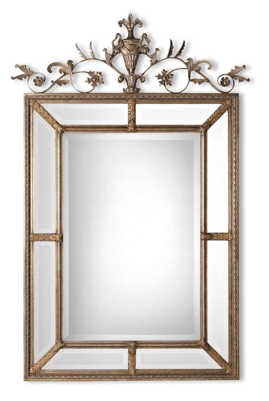 Uttermost Mirrors Le Vau Vertical - Item Number: 11201 B