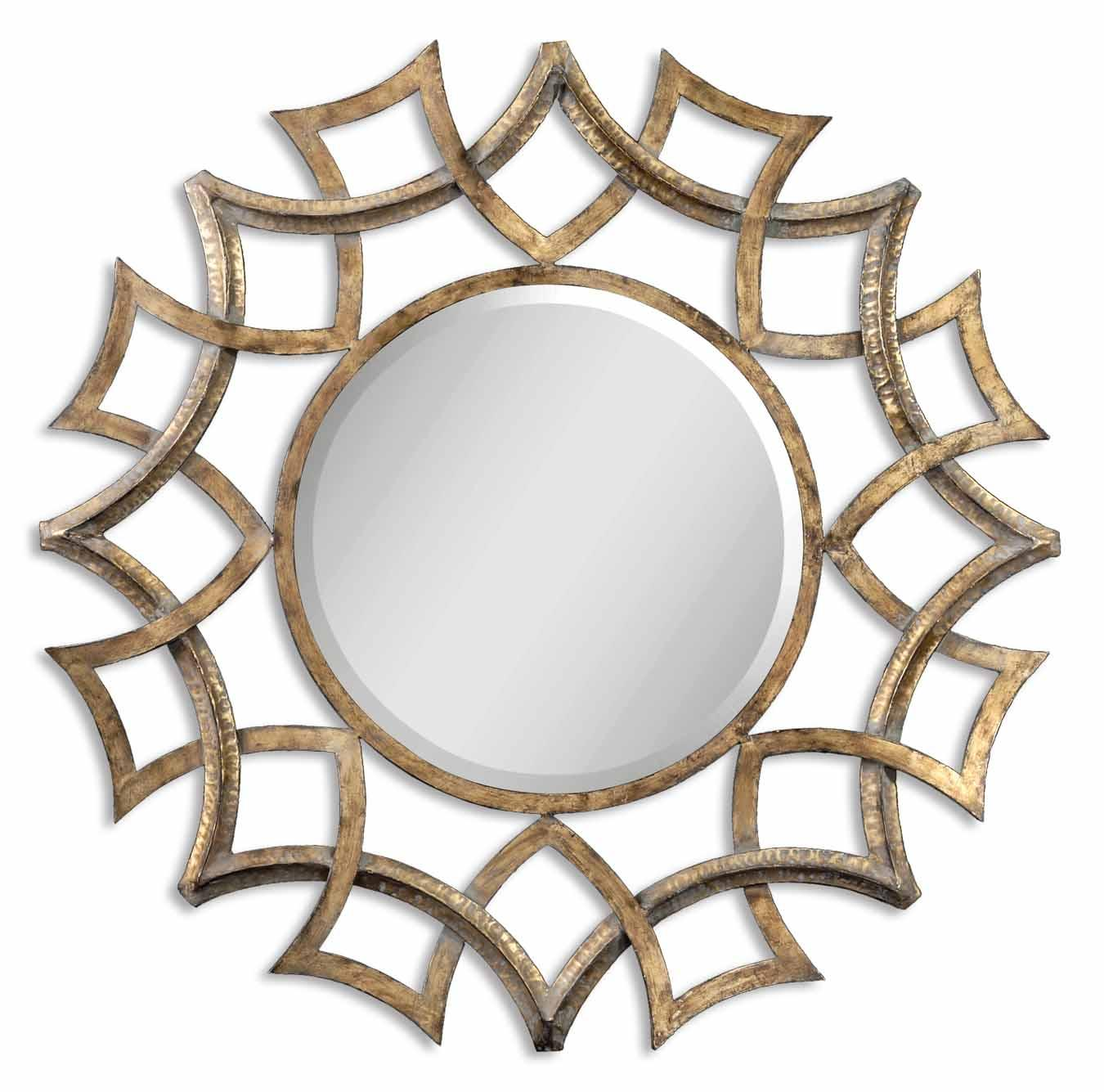 Uttermost Mirrors Demarco Round - Item Number: 12730 B