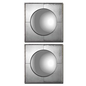 Uttermost Mirrors Savio Squares Set of 2