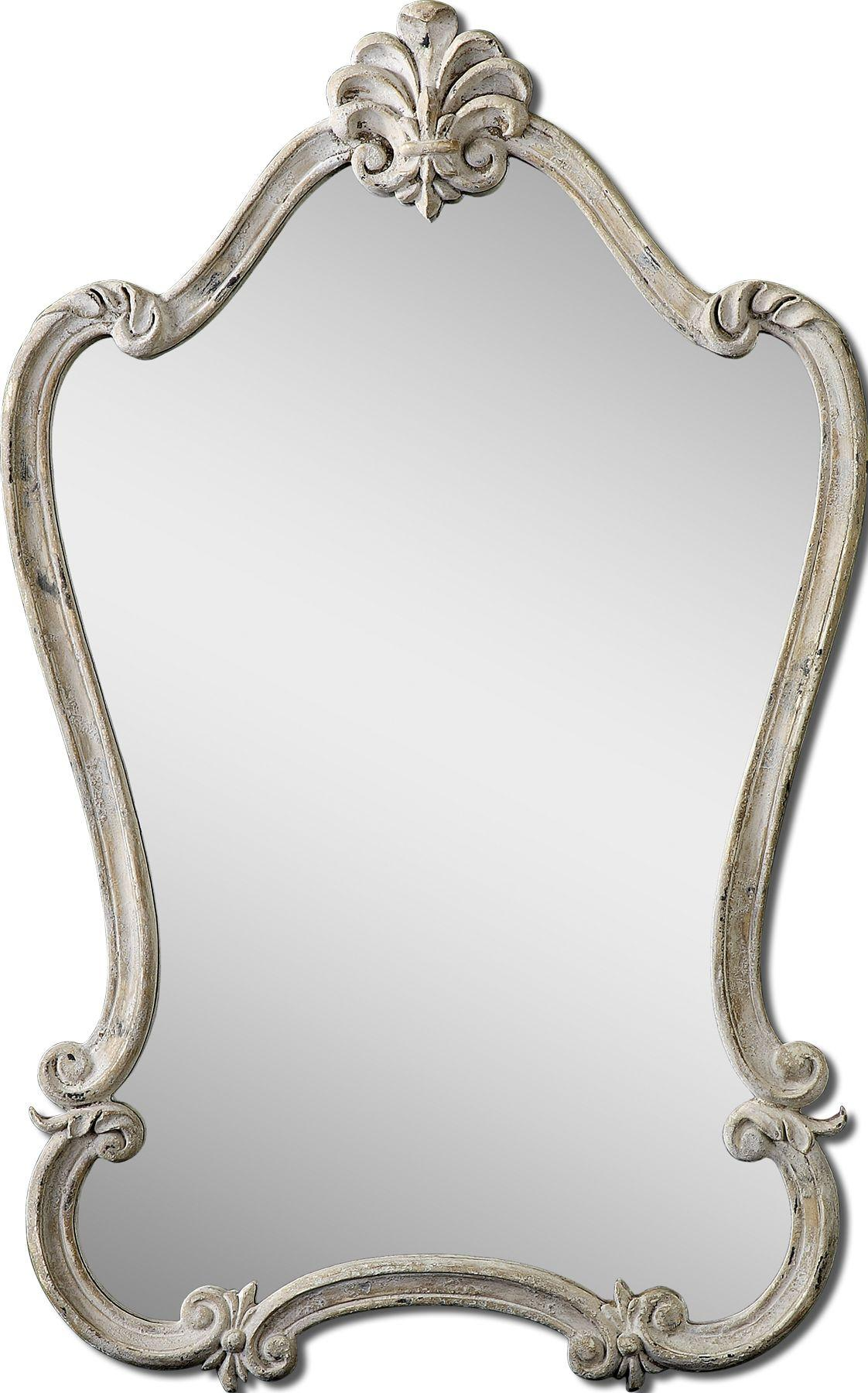 Uttermost Mirrors Walton Hall White - Item Number: 12833