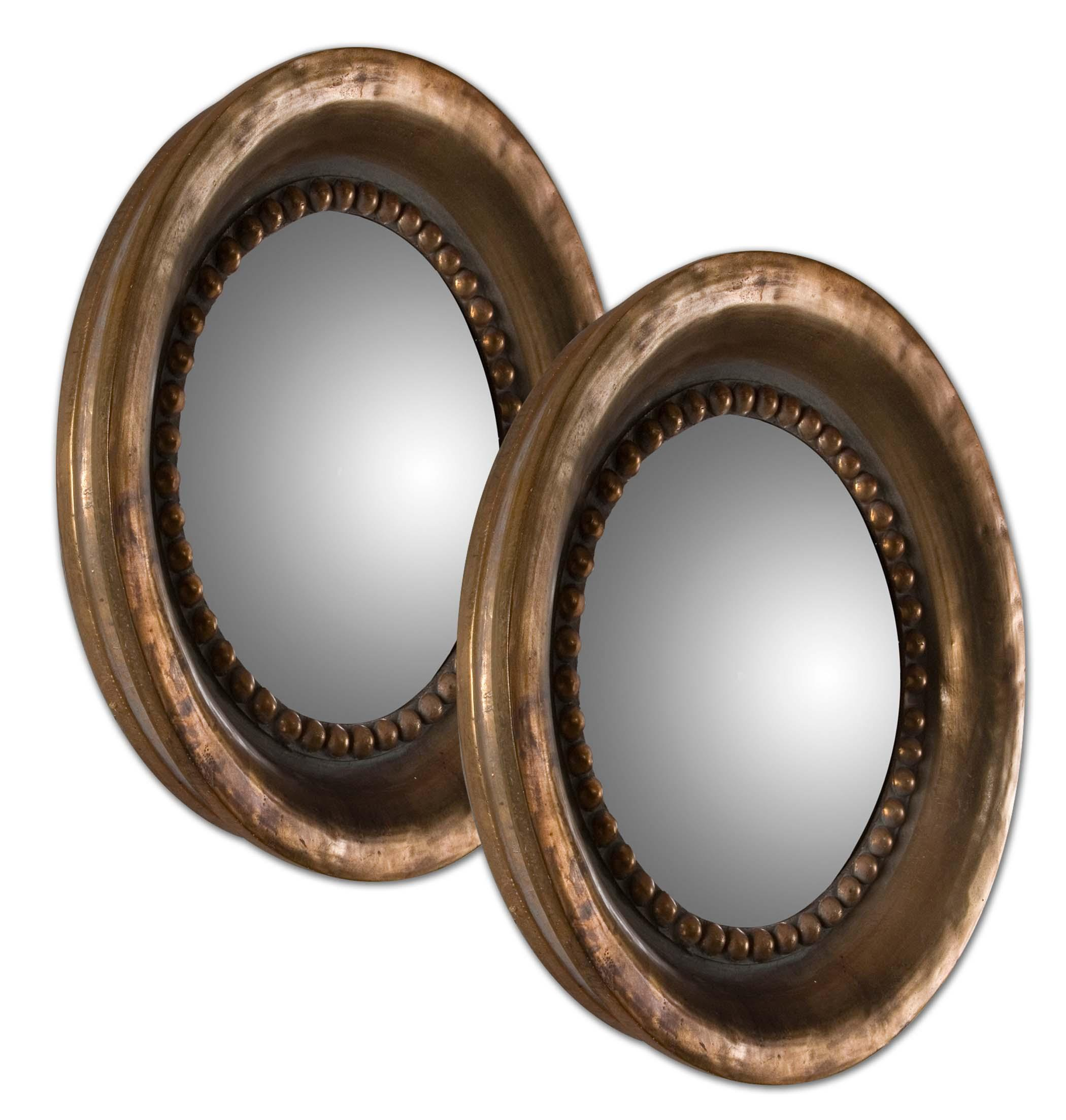 Uttermost Mirrors Tropea Rounds Wood Mirror - Item Number: 12847