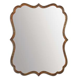 Uttermost Mirrors Spadola Copper Mirror
