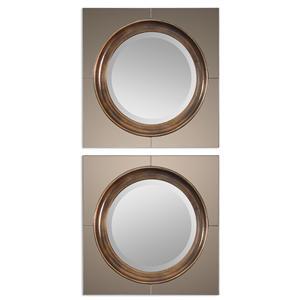 Uttermost Mirrors Gouveia Comtemporary Mirror