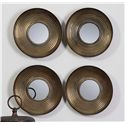 Uttermost Mirrors Tondela Round Mirrors Set of 4