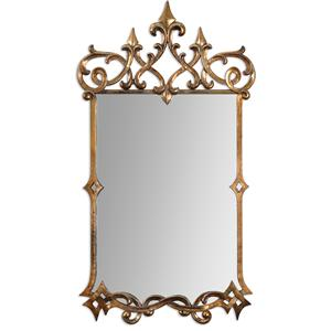 Uttermost Mirrors Mirandela Gold Mirror