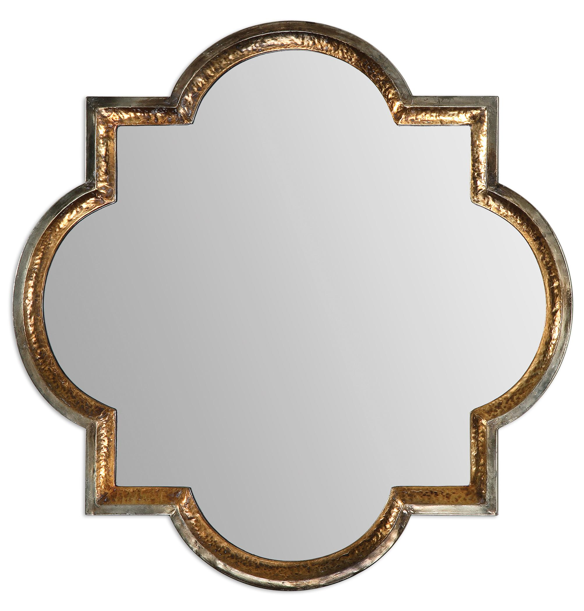Uttermost Mirrors Lourosa Gold Mirror - Item Number: 12862