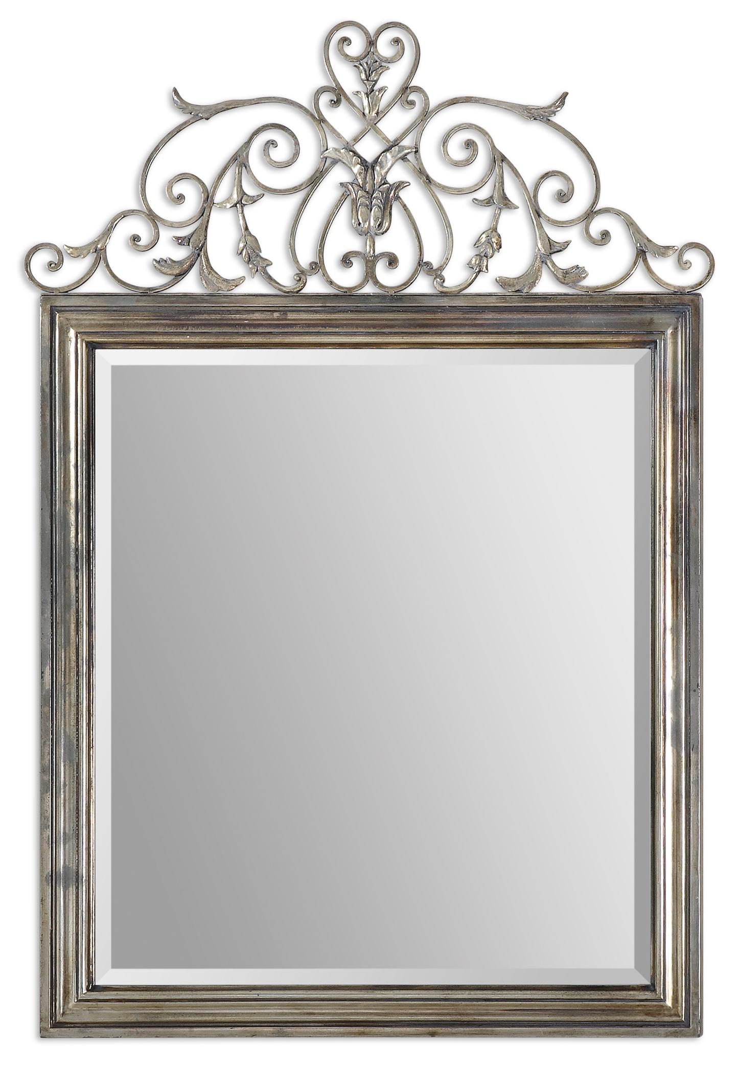 Uttermost Mirrors Kissara Metal Mirror - Item Number: 12865