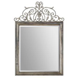 Uttermost Mirrors Kissara Metal Mirror