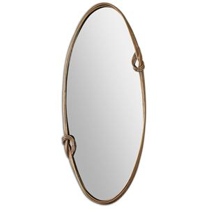 Uttermost Mirrors Giacomo Gold Oval Mirror