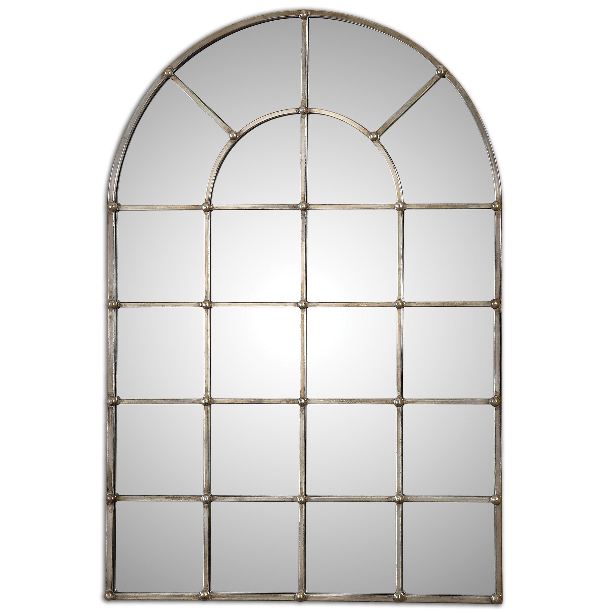Uttermost Mirrors Barwell Arch Window Mirror - Item Number: 12875